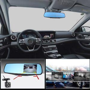 BOITE NOIRE VIDÉO Full HD 1080P Voiture Dvr Caméra Auto 4.3Pouce Rét