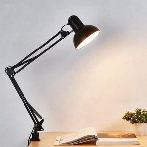 LAMPE A POSER TEMPSA E27 Flexible Vintage Lampe de bureau chevet
