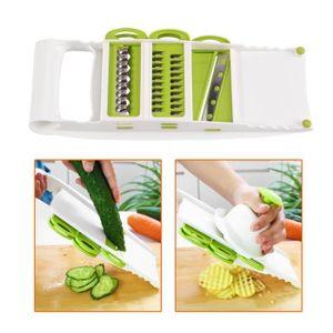 MANDOLINE DE CUISINE Coupe légume Râpe à légumes Trancheuse de cuisine