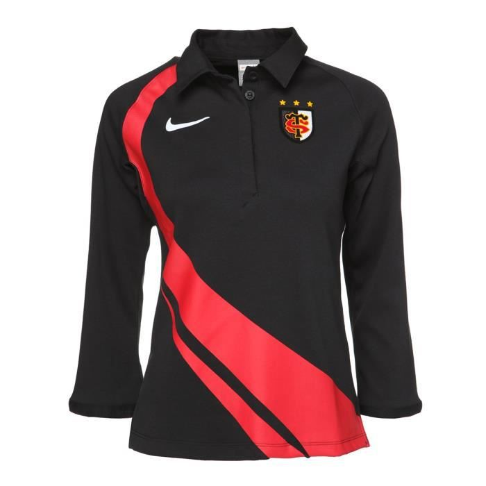 Polo Toulouse Supporters Jersey - Manches Longues - Femme - Col chemise - GrisPOLO