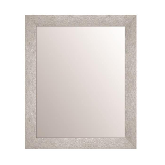 Miroir 40x50 chipi argent vendu par but 1174046 for Miroir habilleuse