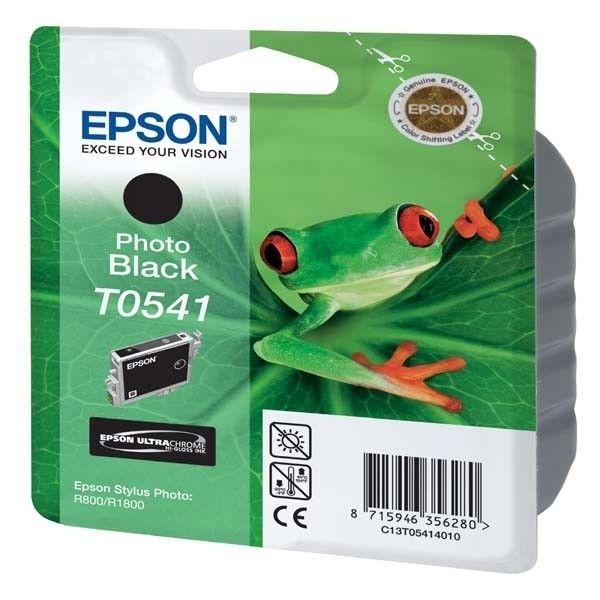 EPSON Pack de 1 Cartouche photo T0541 - Noir - Standard 13ml