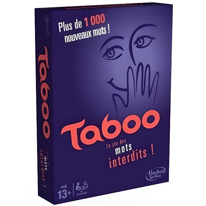 HASBRO GAMING - Taboo - Nouvelle Version