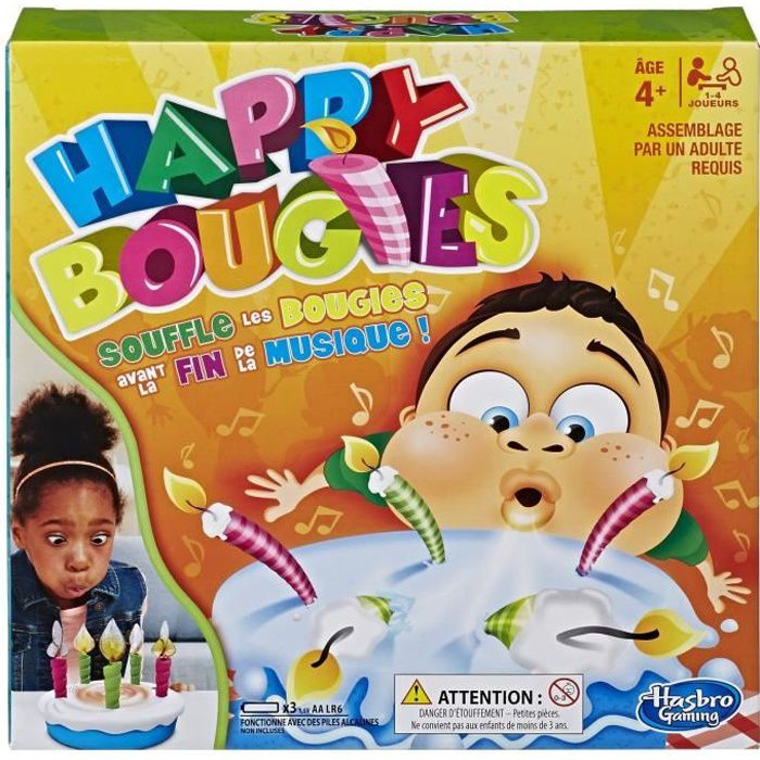 HASBRO GAMING - Happy Bougies !