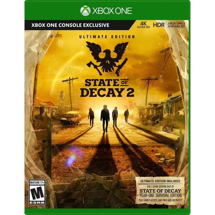 State of Decay 2 Ultimate Edition Jeu Xbox One