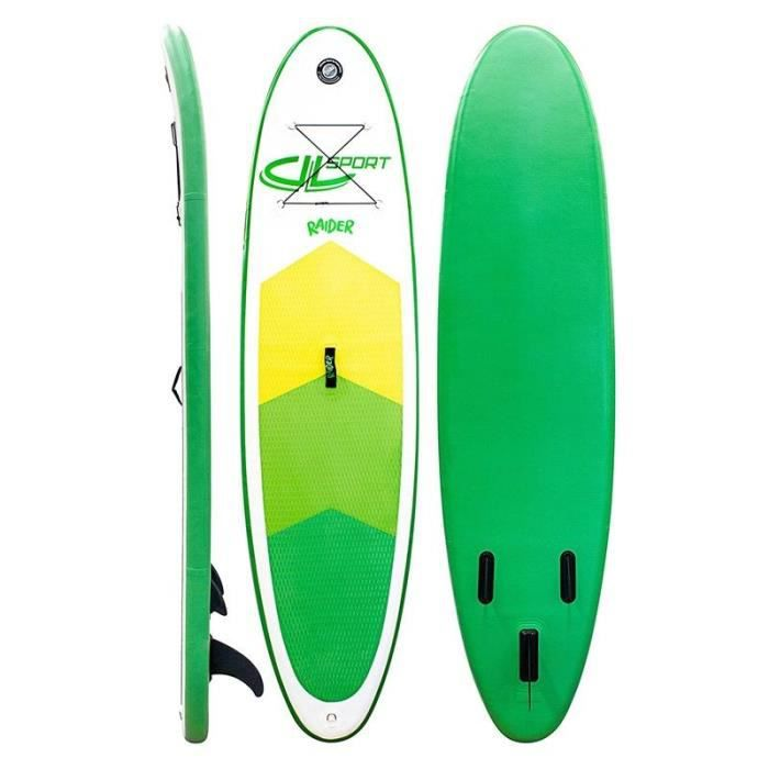 DVSPORT Stand Up Paddle Gonflable 9'8 Raider