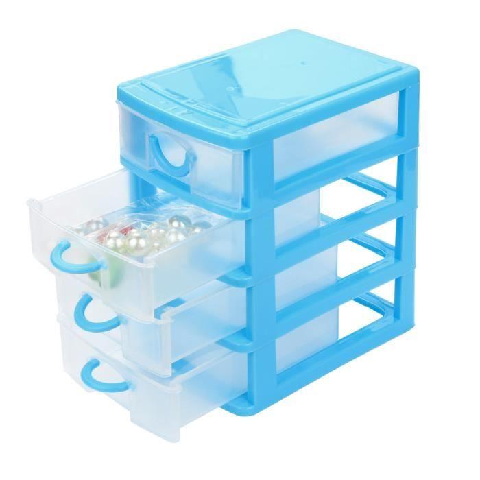 Bac de rangement en plastique tiroir - Achat / Vente pas cher