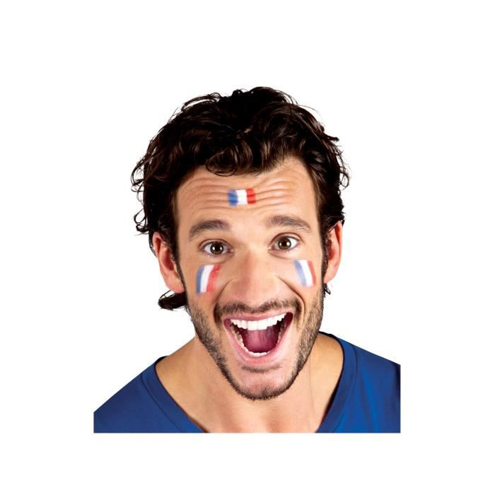 MAQUILLAGE Maquillage Supporter France stick Bleu Blanc Rouge