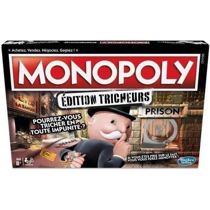 JEU SOCIÉTÉ - PLATEAU MONOPOLY - Edition Tricheurs