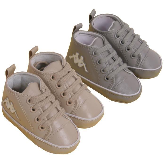 23046ba1dc1c6 KAPPA - Chaussures Bébé Mixte X2 Gris beige Gris beige - Achat ...