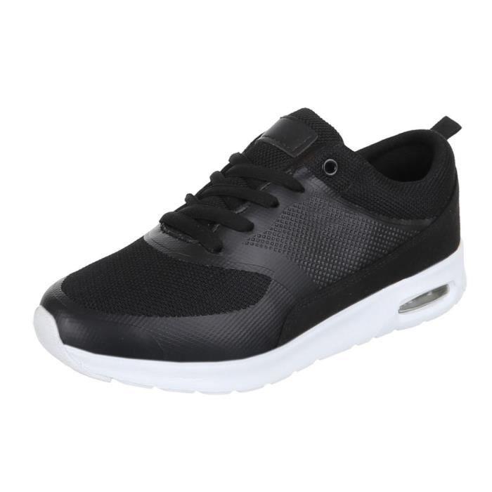 Chaussures femmes sneakers Basket sneakers noir