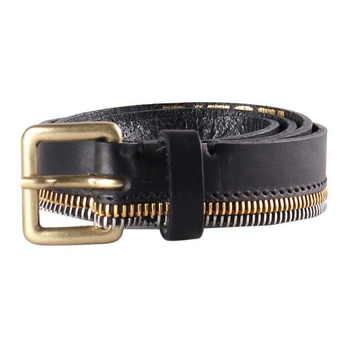 la meilleure attitude f8d43 14cf7 Accessoires femme Ceintures Diesel B Zipper
