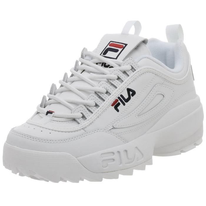 Disruptor Sneaker Taille Ii Rouge Achat Fila W4h0v 47 ZiPXukOT