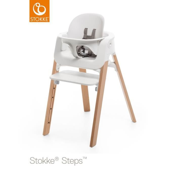Stokke Steps Baby Set Tablette Blanc Achat Vente Chaise Haute