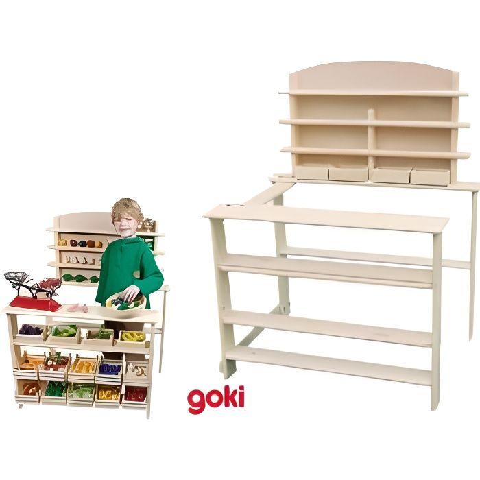 marchande epicerie bois achat vente jeux et jouets pas. Black Bedroom Furniture Sets. Home Design Ideas