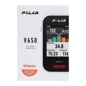 Montre connectée sport POLAR Compteur GPS V650 + HR