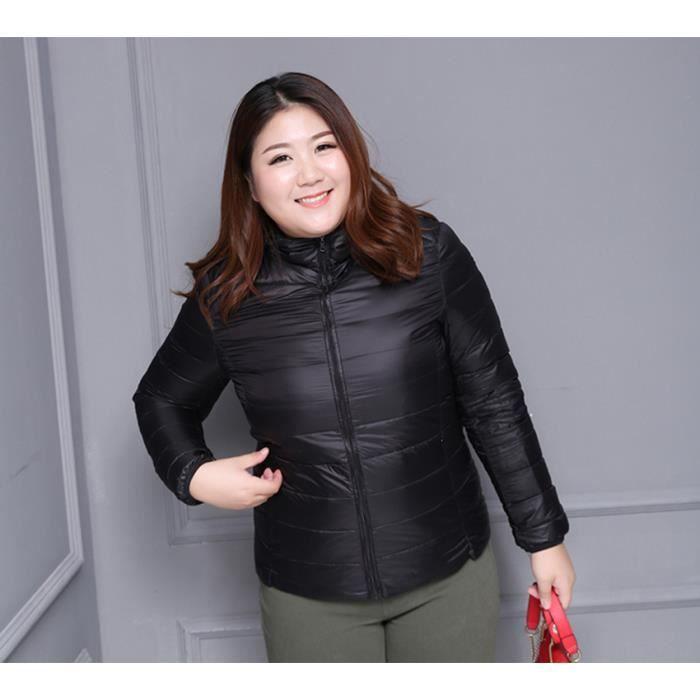 violet Rose 2017 Mode rouge noir bleu Femme Taille Chaud Grande Manteau Doudoune F184wxq