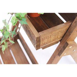 Porte plante interieur achat vente porte plante for Meuble porte plante bois