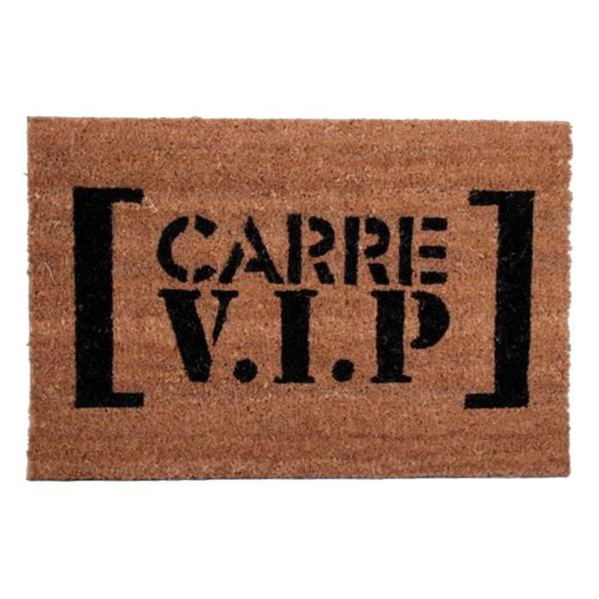 paillasson tapis brosse coco carre vip achat vente paillasson cdiscount. Black Bedroom Furniture Sets. Home Design Ideas