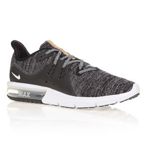 BASKET NIKE Chaussures Air Max Sequent 3 - Homme - Noir,