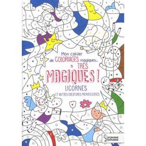 Livre De Coloriage Magique Achat Vente Pas Cher