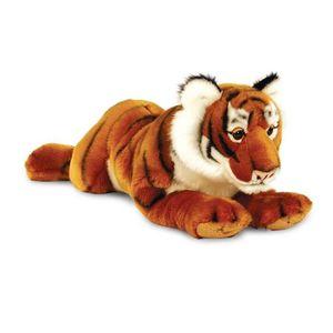 Kt Réaliste 46 Tigre Vente Cm Peluche Achat Animal Allongé dCohrxQBts