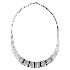 Collier Argent 925 Omega Frange - Achat   Vente sautoir et collier ... 6c880e3546f6