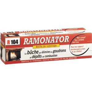 ACCESSOIRES RAMONAGE Bûche de ramonage Ramonator