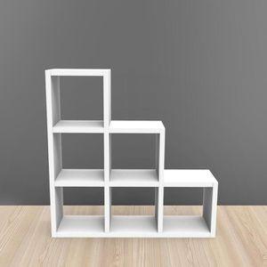 meuble en escalier achat vente pas cher cdiscount. Black Bedroom Furniture Sets. Home Design Ideas