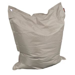 COUSSIN Grand coussin uni Maxi Taupe