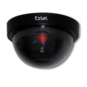 CAMÉRA FACTICE EXTEL Caméra de surveillance dôme factice WESVFC 8