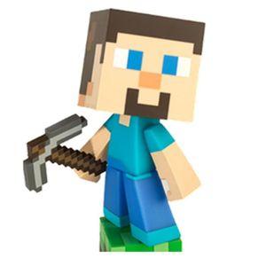 FIGURINE - PERSONNAGE MINECRAFT- Figurine 15 Cm Steve Minecraft