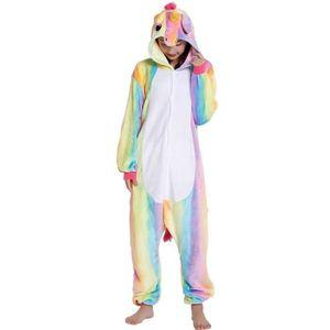 DÉGUISEMENT - PANOPLIE Kigurumi Pyjama Licorne Adulte Arc-en-ciel Déguise