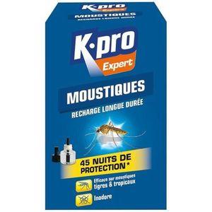 RÉPULSIF NUISIBLES MAISON Recharge liquide moustiques pour émanateur électri
