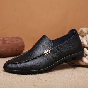 Chaussures en cuir de marque italienne pour homme - Achat   Vente ... f4b0ff6292ba