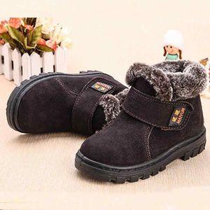 BOTTE Libaib Mode Hiver Bébé Enfant Coton Style Boot Bot