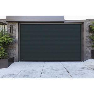 PORTE DE GARAGE Porte de garage à enroulement - RAL 7016 - 3000 x