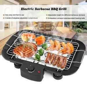 BARBECUE DE TABLE 2000W Barbecue électrique de Table Température Rég
