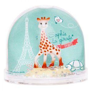BOULE DE NOËL Boule a Neige Sophie la Girafe Paris