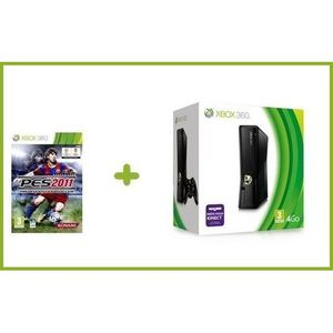 CONSOLE XBOX 360 Pack Xbox 360 4 Go + PES 2011