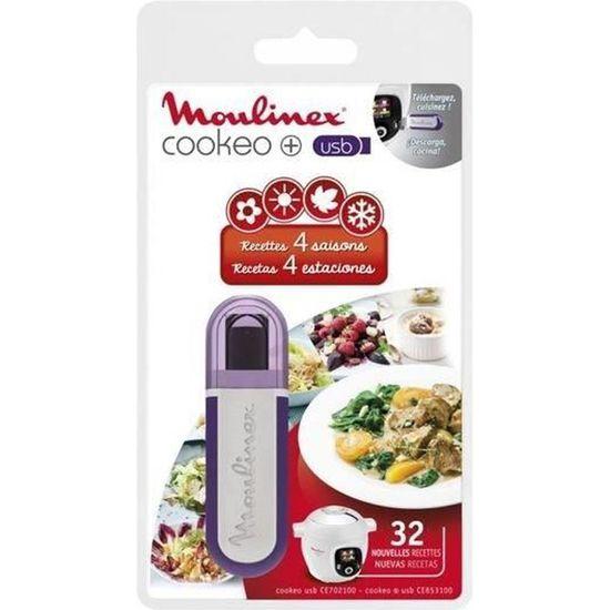 MOULINEX XA600011 Clé USB thème Méditerranée pour Cookeo , Achat / Vente  pièce de petite cuisson , Cdiscount