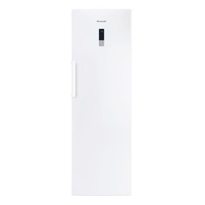 BRANDT BFL584YNW - Réfrigérateur 355L - Froid No frost ventilé multiflow - A++ - L59,5 x H185,5cm -