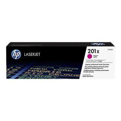 HP Cartouche de toner 201X - 2300 pages - Magenta