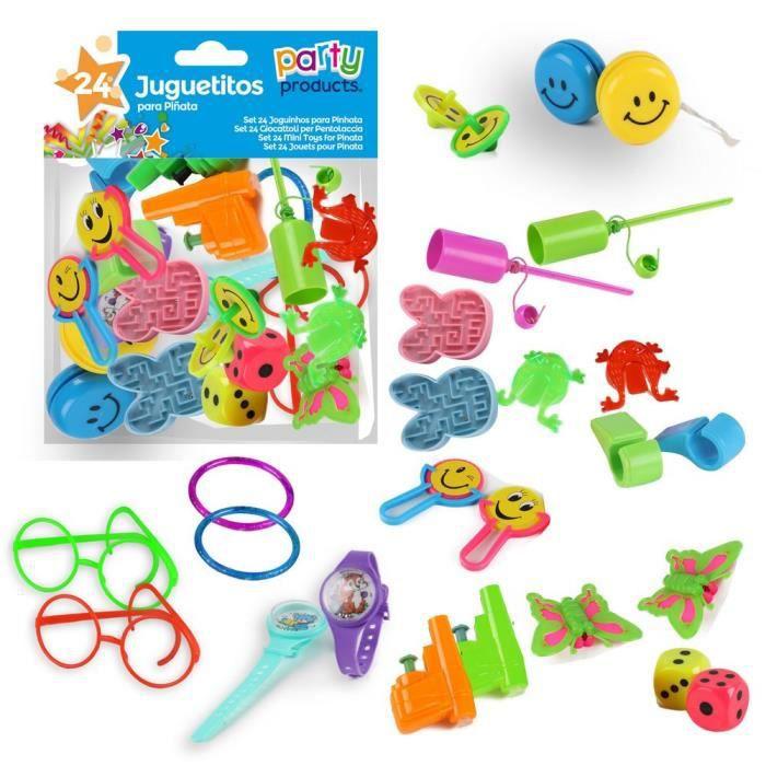 kit 24 jouets pour pinata f te anniversaire enfants pochette surprise cadeaux achat vente. Black Bedroom Furniture Sets. Home Design Ideas