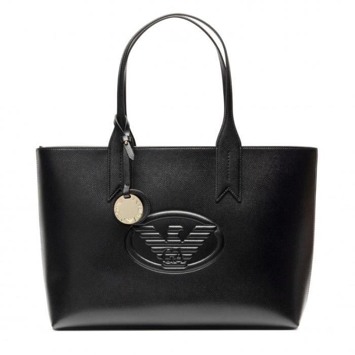 SAC À MAIN Cabas Emporio Armani Noir 36980