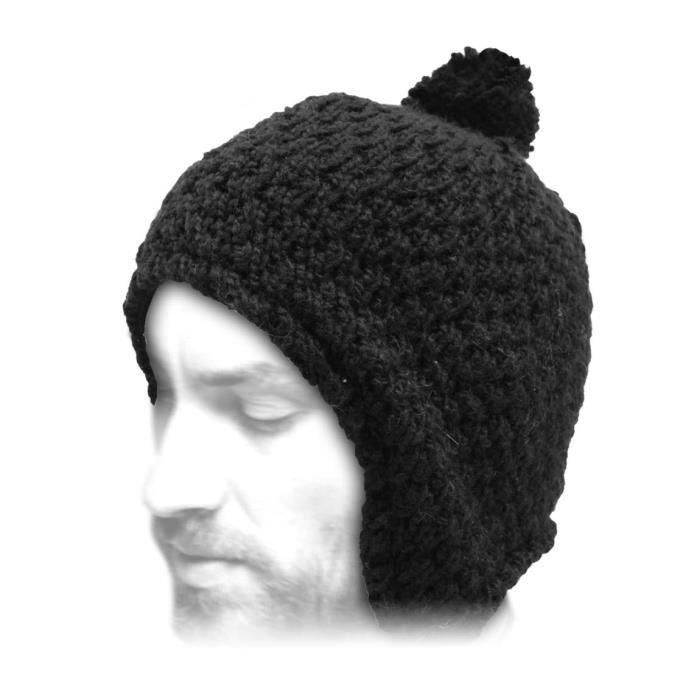 72a1d1891760 Bonnet péruvien Peruvien tricot Herman - Achat   Vente bonnet ...