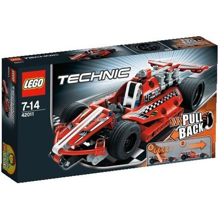 lego technic 42011 la voiture de course achat vente assemblage construction cdiscount. Black Bedroom Furniture Sets. Home Design Ideas