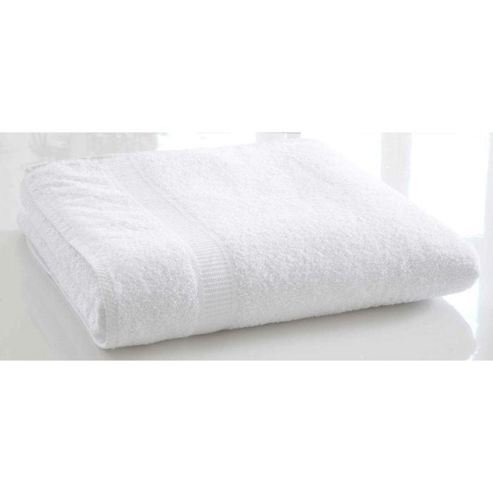 Lot de draps de bain blanc - Achat / Vente pas cher