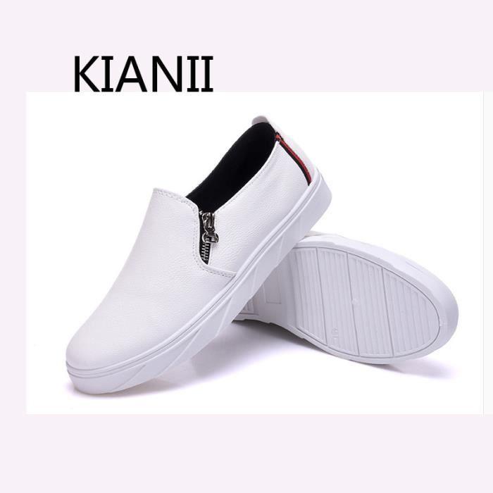 Blanc De Chaussure Skate Kianii® Homme Chaussures QCordxeWB