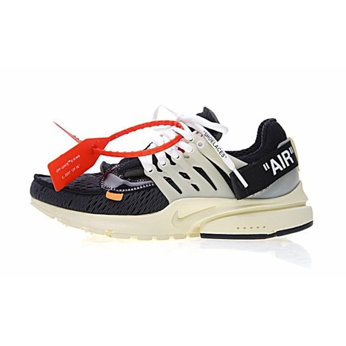new product aa1e8 80d09 BASKET Baskets Off White x Nike Air Presto Chaussures Hom